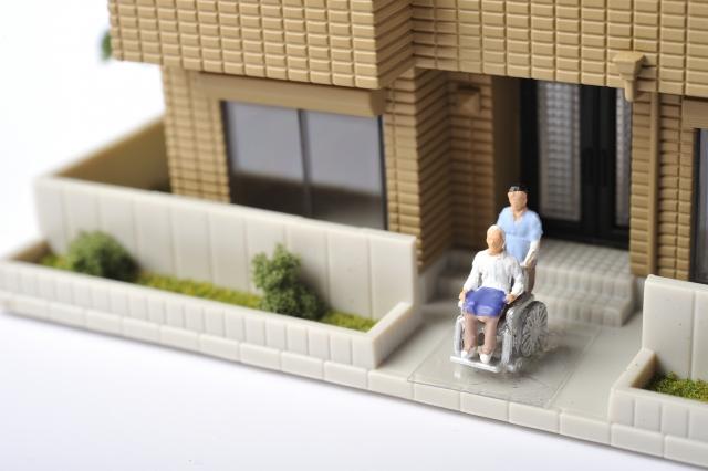 介護士と利用者のイメージ